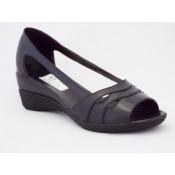 Sandale cu toc mediu piele (43)