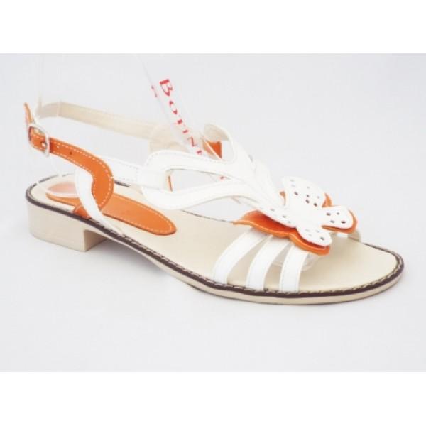 Sandale cu talpa joasa piele