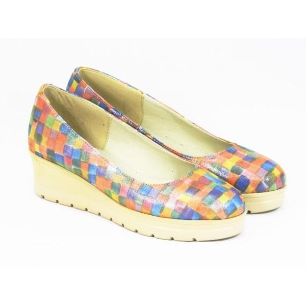 Pantofi dama piele pastel Sonia