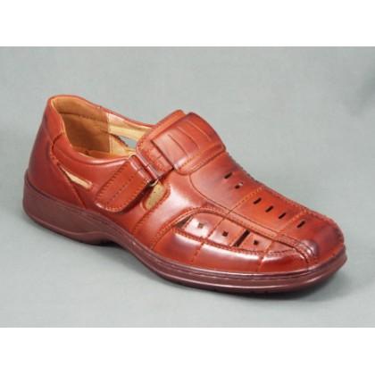 Sandale barbati maro Horry, (CABIN Z007-2 brown