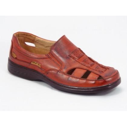 Sandale barbati maro Jonne, (BANGPAI  3891-2 BROWN-46)