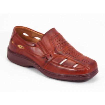 Sandale barbati maro Paully, (BANGPAI  E 3215-2 BROWN (M)-32)