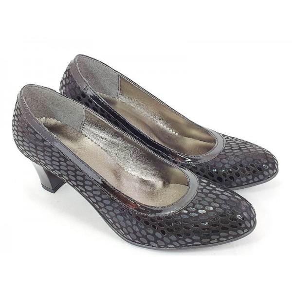 Sandale dama piele negre Sofia